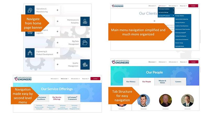 UX, Navigation - SEO Best Practices graphic